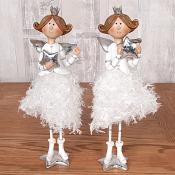 Glitzy Skirt Angel Set of Two