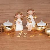 Nellie and Noelle tea light holder