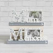 Grey and Cream Photo Frame