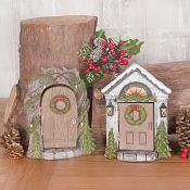 Christmas Doors Set of Two