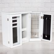 Box Jewellery Cabinet White