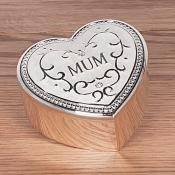 Mum Trinket Box Cream