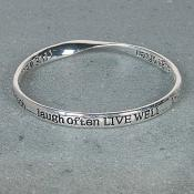 Live, laugh, Love Bangle