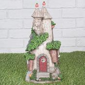 Tree Trunk Fairy Castle Light Up