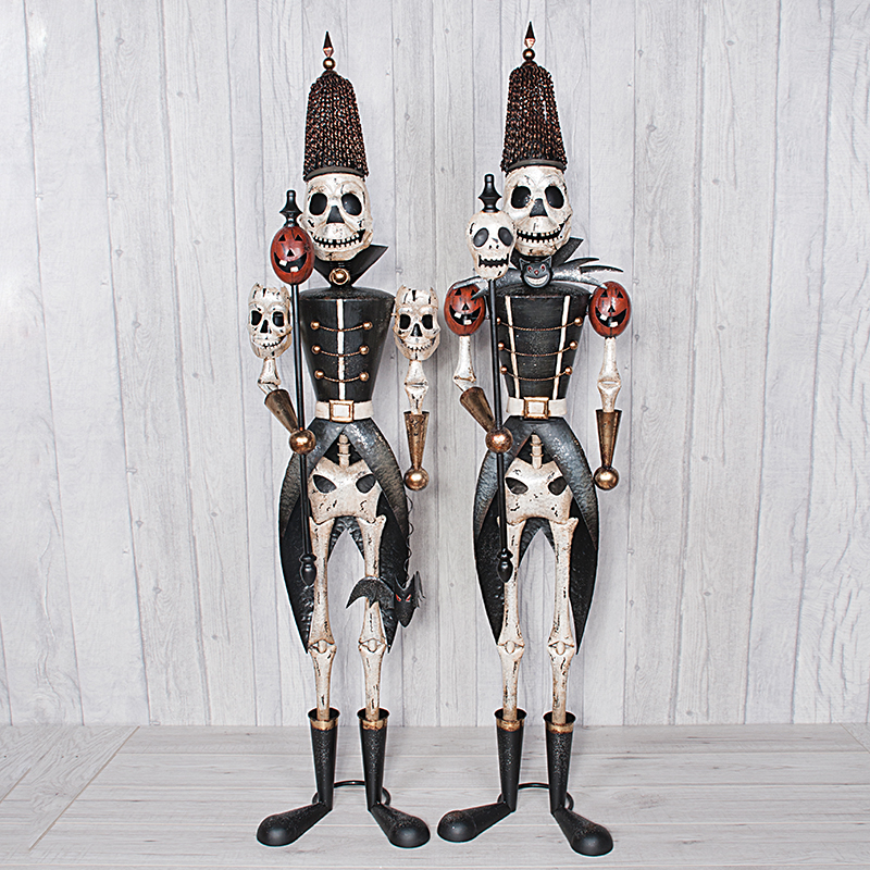 Skeleton Soldier XL Set Of Two