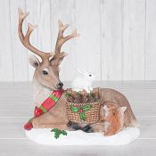 Reindeer and Friends christmas Decoration