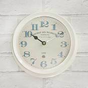 Martigues Clock White