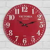 Victoria Station Iron Clock