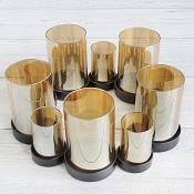 10 Glass Candle Holder