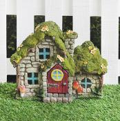 Stone Effect Light Up House (Small)