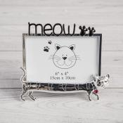 Meow Cat Photo Frame