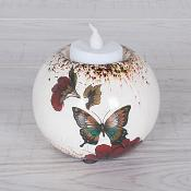 Spring Butterfly T Light Vase Small