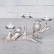 Double Bird Branch Candle Holder