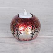 Red Trees T Light Vase (Small)