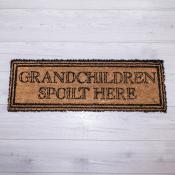 Grandchildren Spoilt Here Doormat