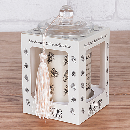 Sentiment Candle Jar Daughter