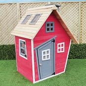 "<span><span style=""font-size: large;"">Provide your kids unlimited hours of fun by adding this colourful quirky Wendy house to your garden.</span><br /><span style=""font-size: large;""><br />All Wendy houses feature solid floors, they are great quality!</span><br /></span>"
